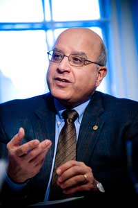 McGill Provost, Prof. Anthony C. Masi