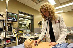 Current med student Amanda Lord./Photo: Owen Egan