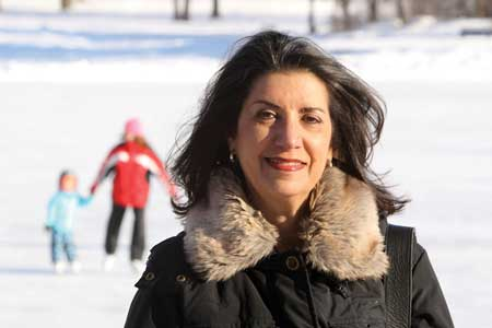 """""I'm amazed at the hidden talents of the McGill community,"" says Sharon Bond, Director of the"