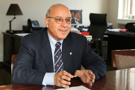 Provost Anthony C. Masi is confident that, with the continued support of the McGill community, he will be able to present a balanced budget to the Board of Governors for the Fiscal Year 2015. / Photo: Owen Egan