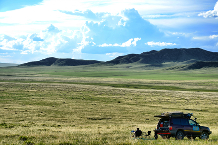 """One of the most beautiful places in the world,"" says Edward Durgan of the Mongolian steppe. / Photo: Edward Durgan."