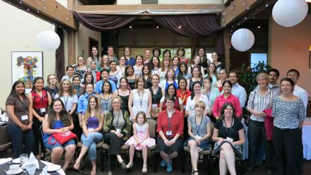 Edition 2013 de la conférence des femmes en physique au Canada à l'université Simon Fraser, C.B. / Photo courtesy of Annabelle Chuinard