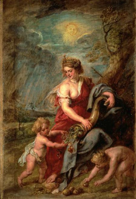 Abundance (circa 1630) by Peter Paul Rubens.