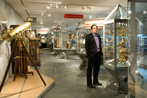 Jean-Francois Gauvin is the the Director of Administration of Harvard's Putman Gallery Collection of Historical Scientific Instruments. / Photo: Samantha Van Gerbig.