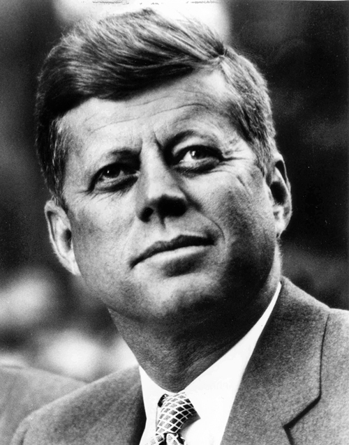 John F. Kennedy, President of the United States of America. / Photo: White House Press Office