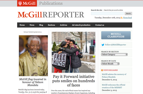 By year's end, the McGill Reporter articles will have been viewed almost 570,000 times.