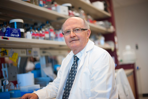 Dr. Lorne A. Babiuk, 2013 Killam Prize Winner in Health Sciences.