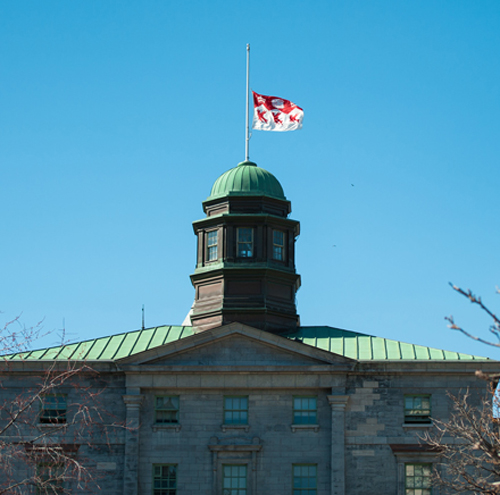 The University's flag will be lowered to half-staff next Friday through Sunday Jan. 31 to Feb. 1.