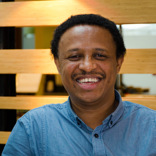 Dr. Semaghan Gashu Abebe is currently an O'Brien Fellow in residence at the Centre for Human Rights and Legal Pluralism. / Photo: Lysanne Larose