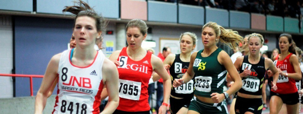 McGill will host the largest indoor track meet in Canada, Jan. 24-25. / Photo: Sam Reynolds