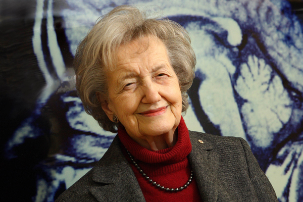 """I owe a lot to Brenda Milner as well because her studies of HM really did set the whole agenda for studying the hippocampus,"" says John O'Keefe.  / Photo: Owen Egan"