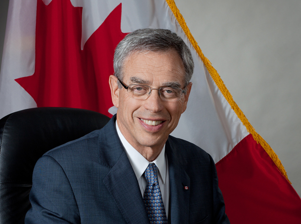 Joe Oliver (BA'61; BCL'64) was sworn in as Finance Minister on March 18.