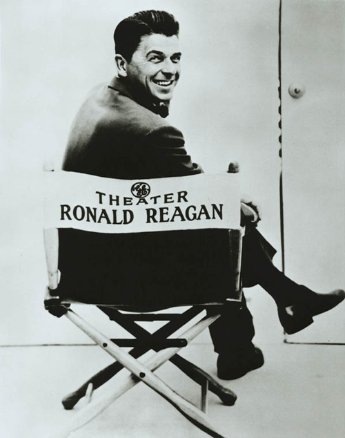 Prior to entering politics, Ronald Reagan was an actor and the host of televison's General Electric Theater. / Photo courtesy of Wikimedia Commons