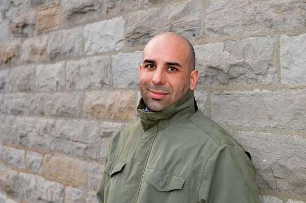 Moe Touizrar, the doctoral student in Music Composition, wrote Setting Sun (Still Life) based on his experiences working with soldiers in Afghanistan.