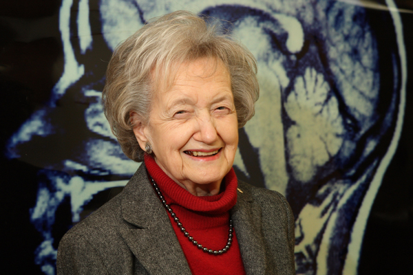 Brenda Milner is widely recognized as one of the founders of cognitive neuroscience – the field that brings together brain and behaviour. / Photo: Owen Egan