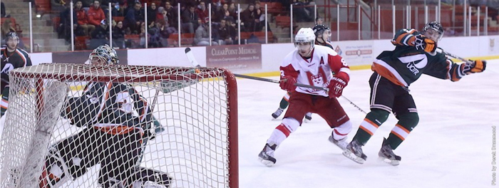 Ryan McKiernan becomes the third McGill defenceman to play pro in Sweden. / Photo: Derek Drummond