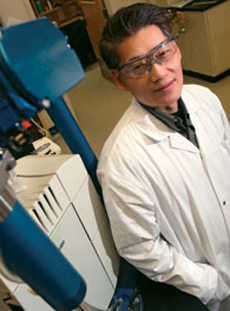 C.J. Li is the E.B. Eddy Chair and Canada Research Chair in Green/Organic Chemistry.