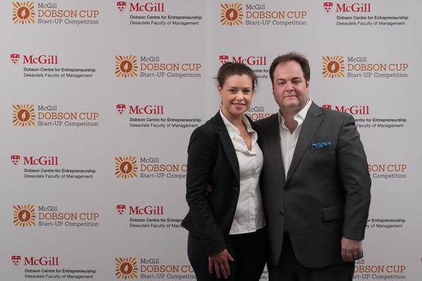 Eloïse Grondin-Bouchard and Adam B. Coape-Arnold, co-founders of Cult Yogourt.