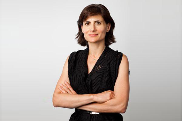Amale Andraos, Columbia University's new Dean of the Graduate School of Architecture, Planning and Preservation earned her B.Arch from McGill in 1996. / Photo: Raymond Adams, Columbia News