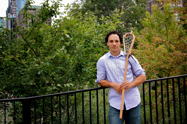 "Lacrosse was my gateway. It was my bridge to an education,"" says Allan Downey of the Nak'azdli First Nation and the newly hired academic associate in Indigenous Studies at the McGill Institute for the Study of Canada. / Photo: Neale McDevitt"