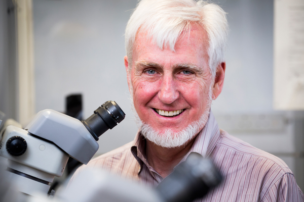 Nobel Prize winner, John O'Keefe. / Photo: David Bishop, University College London
