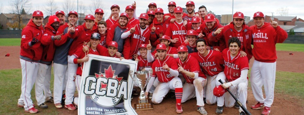 The McGill Redmen: 2014 CCBA national champions.
