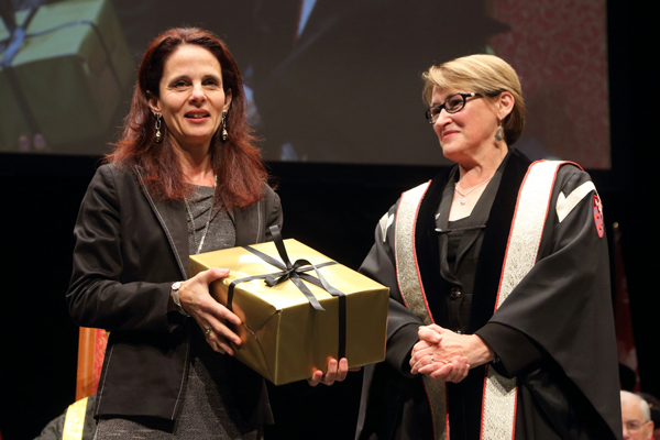 Pina Sorrini, winner in the Managerial category. / Photo: Owen Egan