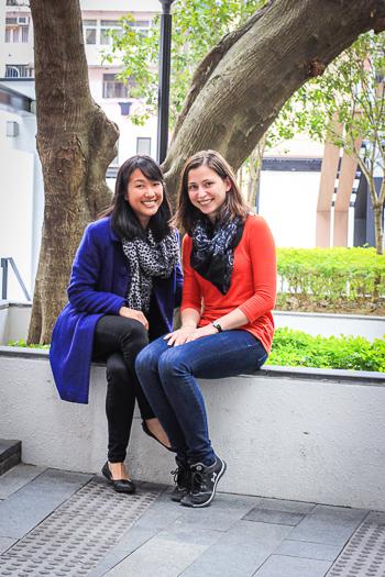 Megan Mah and Olga Redko / Photo: Victoria Leenders-Cheng