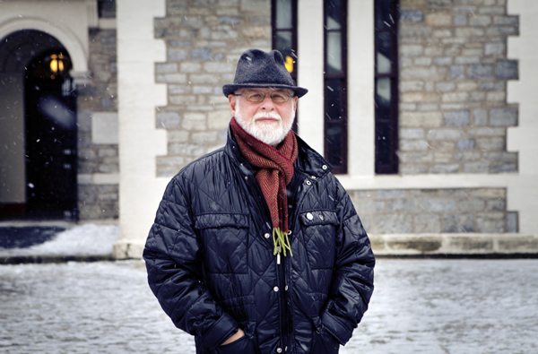 Alberto Manguel will be at McGill on March 12.