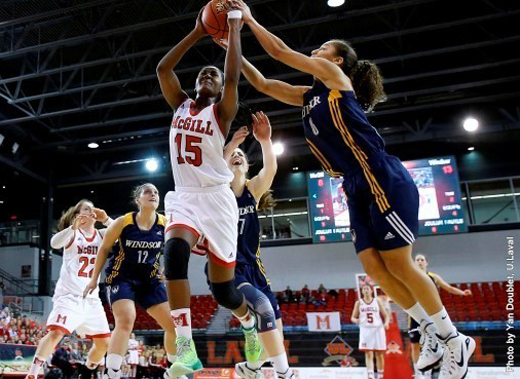 Mariam Sylla was named as McGill's player of the game in the CIS gold medal contest against Windsor.
