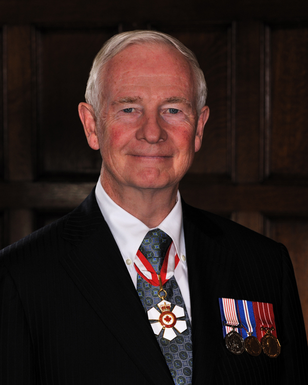 the Right Honourable David Johnston, C.C., C.M.M., C.O.M., C.D., Governor General and  Commander-in-Chief of Canada. / Photo: Sgt Serge Gouin, Rideau Hall