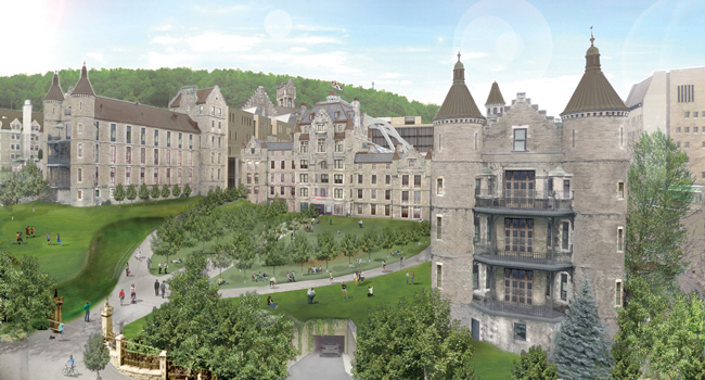 An artist's conception of a revamped Royal Vic. / Image courtesy of DMA Architectes