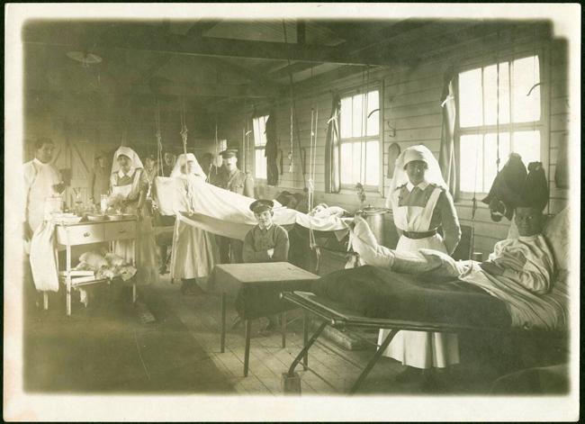 Près de 145 000 patients seront soignés par le personnel de l'Hôpital général canadien no 3 entre 1915 et 1919.