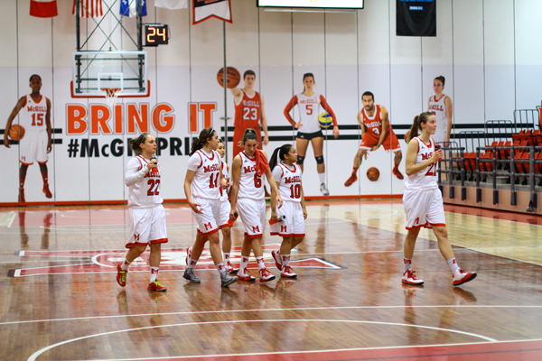 The Martlets basketball team will play in the CIS FInal Eight tournament in Quebec City from March 12-15.