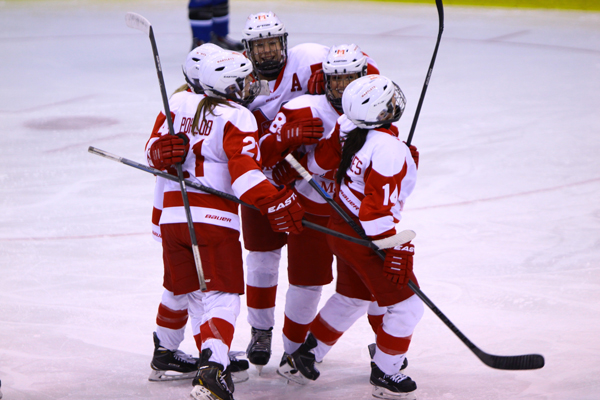 The Martlets hockey team is the defending CIS national champion.