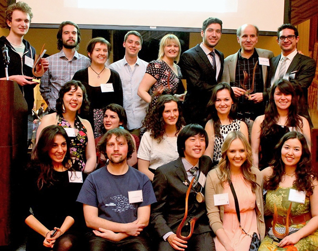 The winners of the 2015 Catalyst Awards at the gala held recently at the Faculty Club.