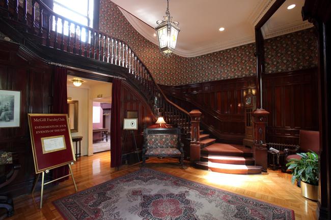 Le charme ancestral d'édifices comme celui du Cercle universitaire (Faculty Club) de McGill est particulièrement apprécié pour les tournages.