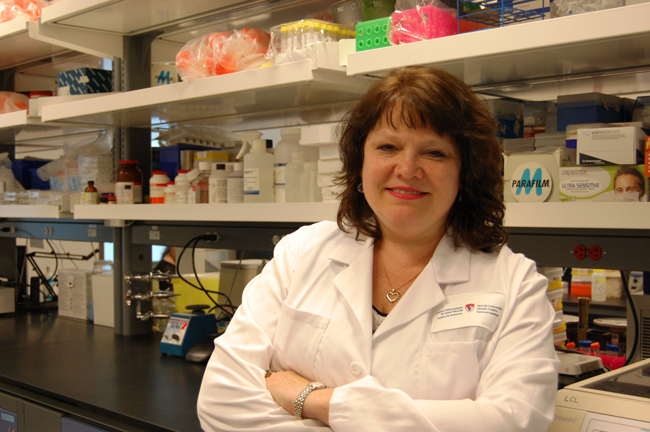 Dr. Christine McCusker, allergist at the Montreal Children's Hospital and researcher at the RI-MUHC.