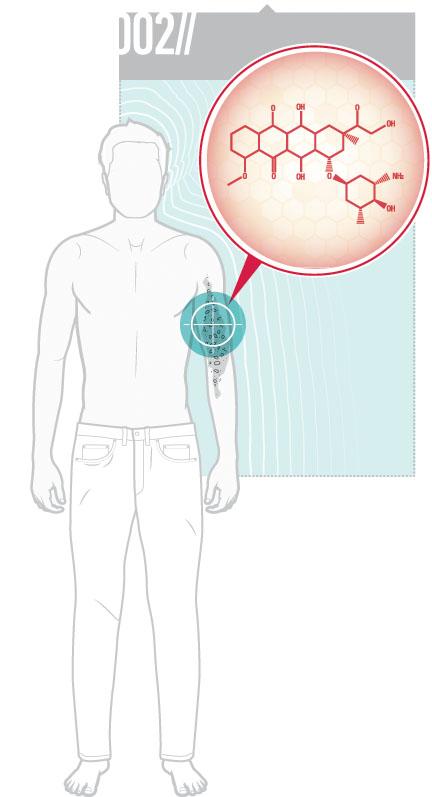 Les nanoparticules d'or conjuguées de Jay Nadeau off rent des possibilités prometteuses dans le traitement du mélanome.