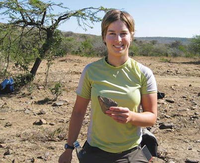 Undergraduate Rachel Steed studied issues impeding health care access in Kenya. Courtesy of Rachel Steed