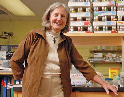 La chercheuse en orthopédie Janet Henderson