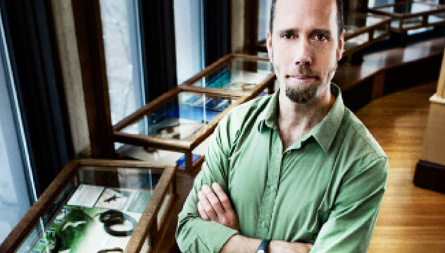 Hans Larsson, a specialist in Vertebrate Paleontology, is the new Director of the Redpath Museum.