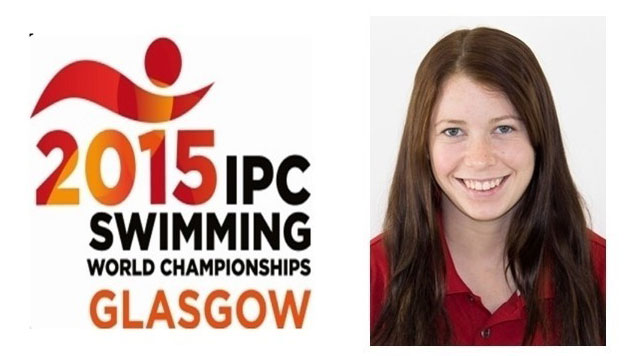Sarah Mehain won a bronze medal in the 50-metre butterfly (S7 category) at the International Paralympic Committee world swimming championships in Glasgow, Scotland.