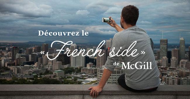 Le nouveau portail « Vivre McGill en français » rassemble tous les renseignements relatifs à l'apprentissage du français ou en français à l'Université