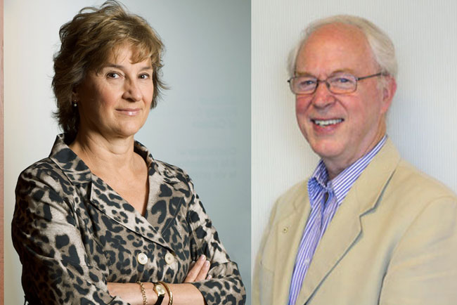 Jennifer Stoddart and Timothy Brodhead will receive their honorary degrees during Fall 2015 Convocation.