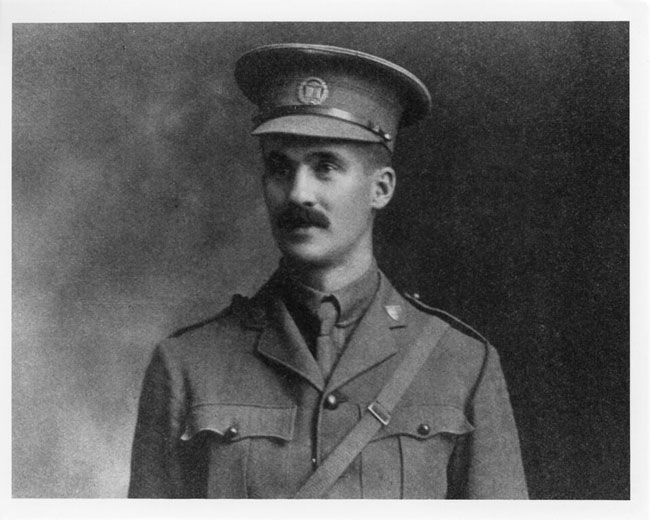 Captain Percival Molson, circa 1915. Photo: McGill University Archives, PR041491