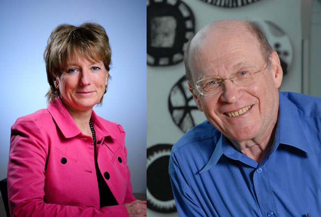 Morag Park and Nahum Sonenberg will be honoured at the Canadian Cancer Research Conference in Montreal on Nov. 8 and 9.