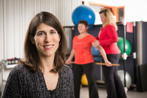 Dr. Lora Giangregorio's work work has led to the development of internationally endorsed exercise guidelines for osteoporosis, and tools for physicians, physiotherapists and patients.