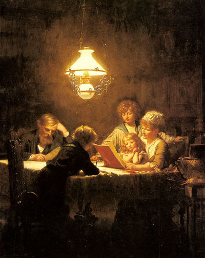 Knut Ekwall, The Reading Lesson