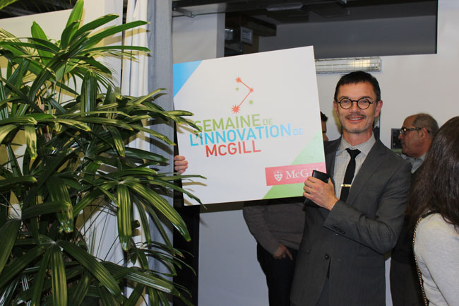 This year, McGill Innovation Week included 19 events designed to encourage collaboration between members of the McGill community and Montreal's innovation leaders. / Photo: Goergia Kalavritinos